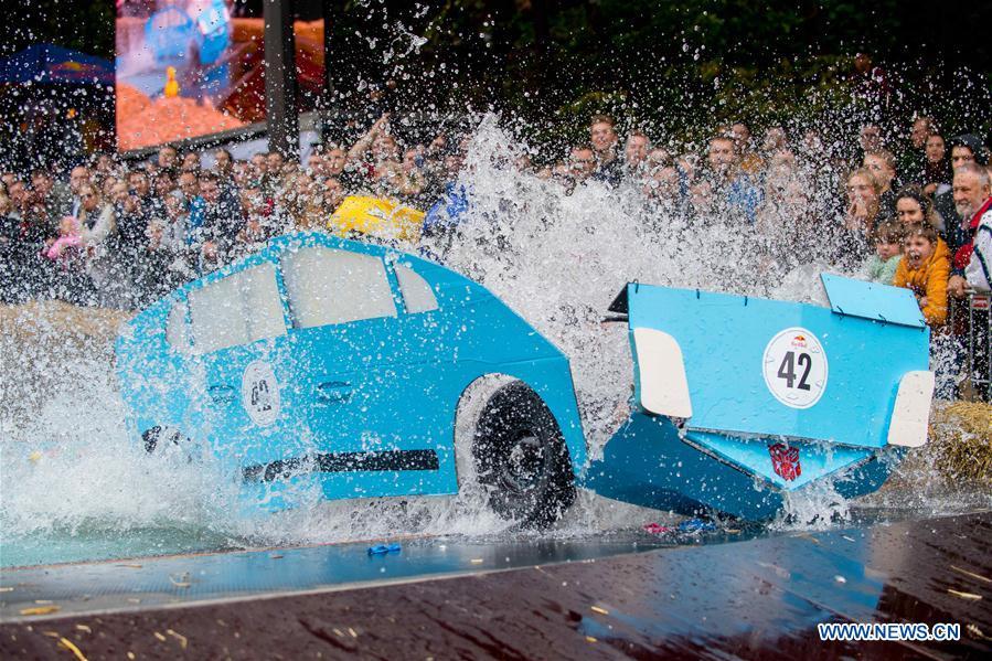 LITHUANIA-KAUNAS-SOAPBOX-RACE