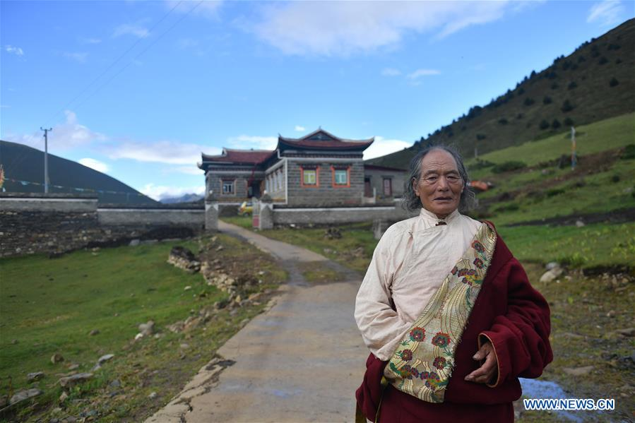 CHINA-SICHUAN-POVERTY ALLEVIATION-YAK MILK (CN)