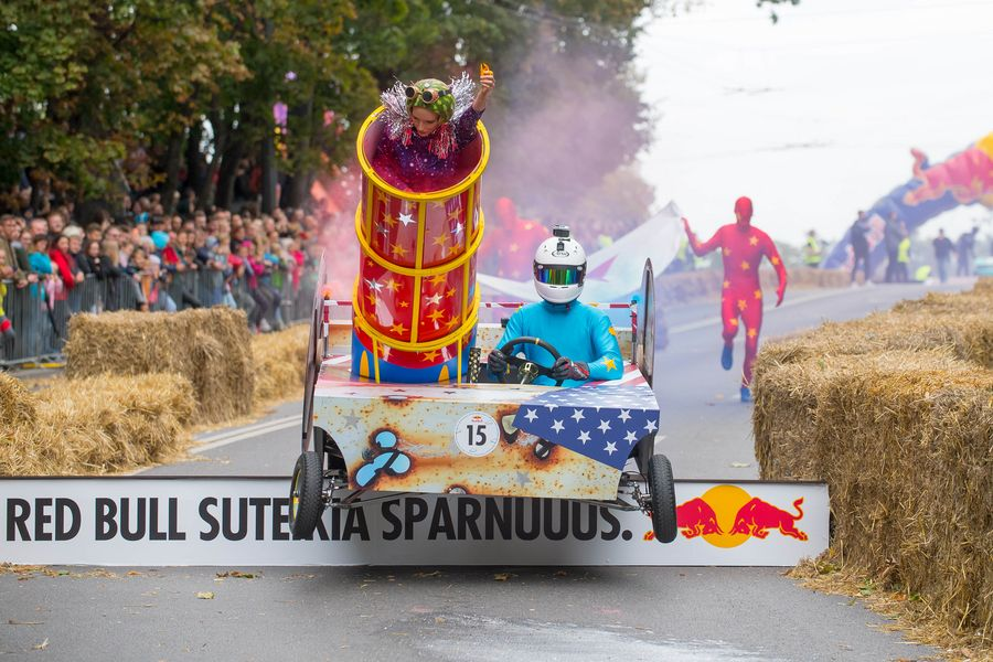 Time to have some fun! SoapBox Race in Lithuania - Xinhua | English.news.cn