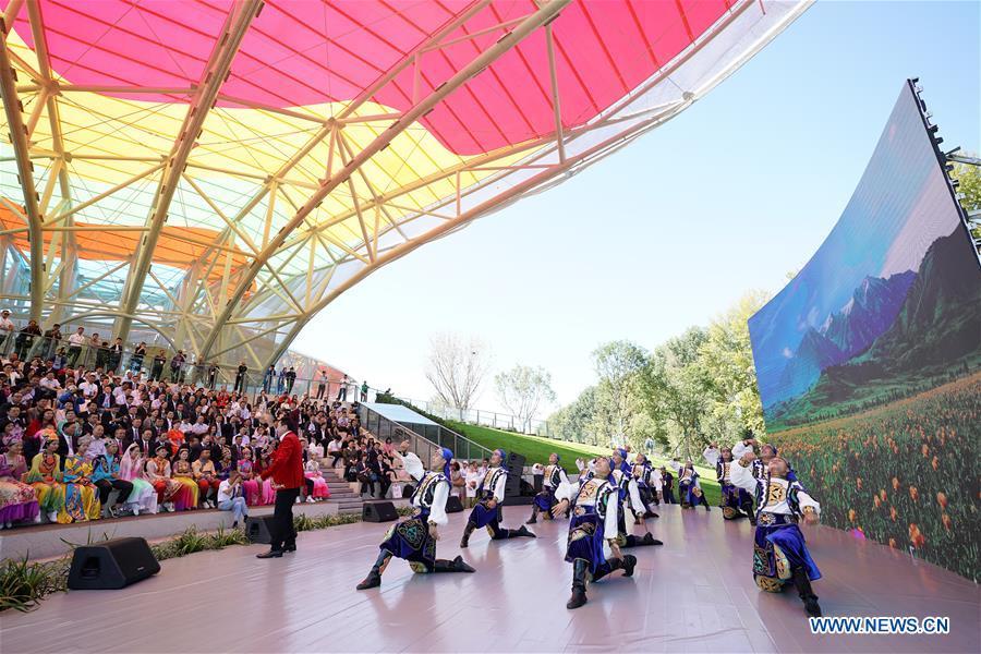 CHINA-BEIJING-HORTICULTURAL EXPO-XINJIANG DAY (CN)