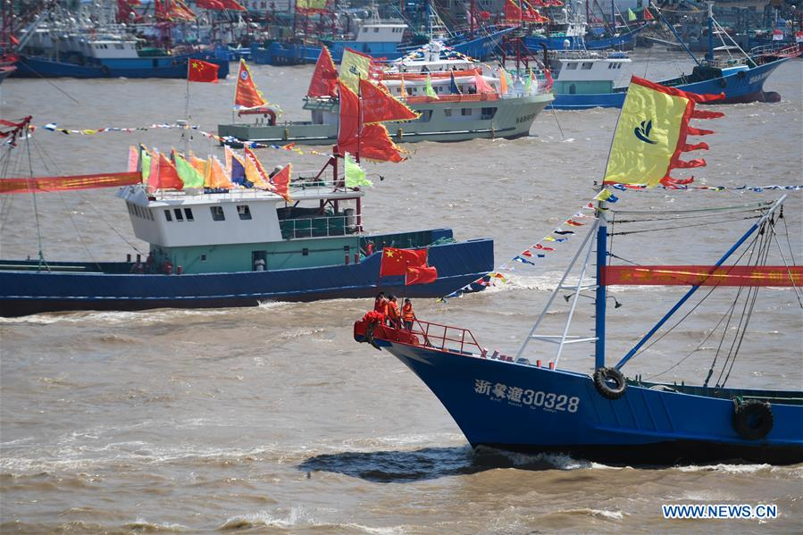 CHINA-ZHEJIANG-NINGBO-FISHING SEASON-START (CN)