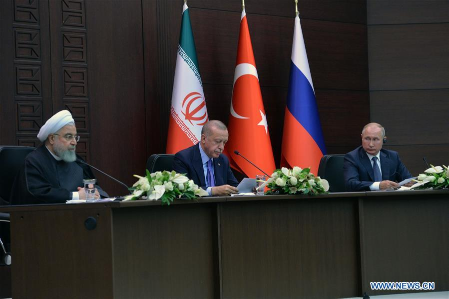 TURKEY-ANKARA-RUSSIA-IRAN-SUMMIT-SECURITY ISSUE IN SYRIA