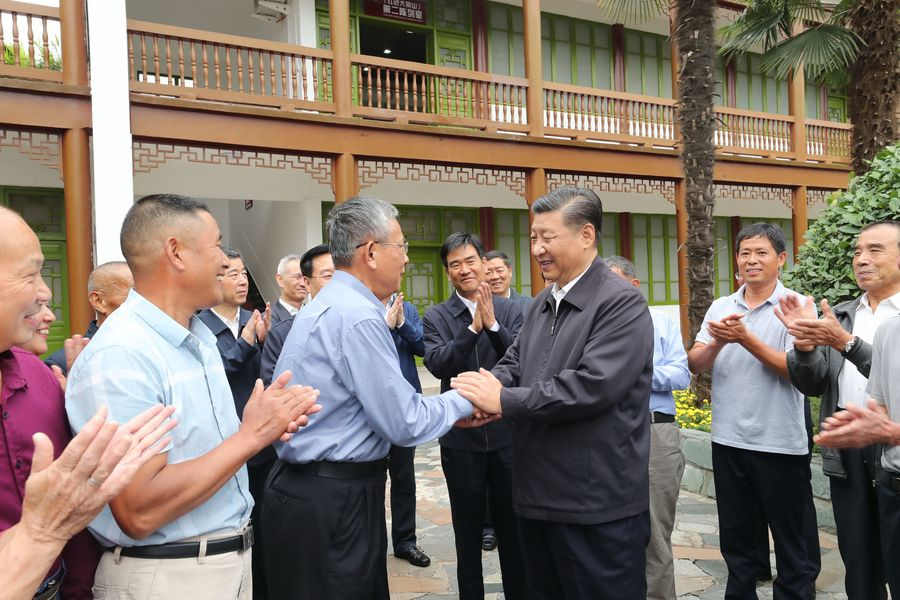"""Xi calls for remembering where """"red political power"""" comes from - Xinhua 