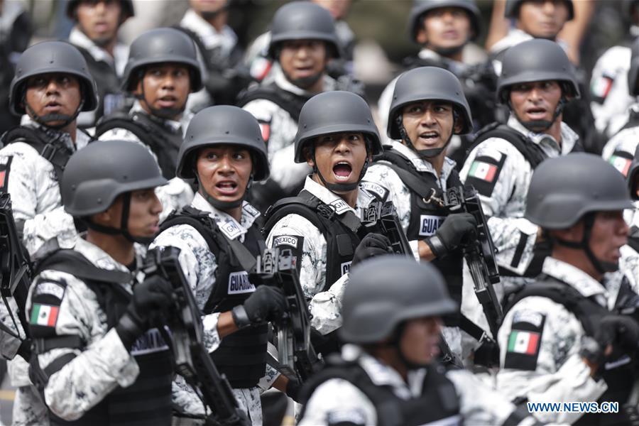 墨西哥 - 墨西哥城市 - 独立日游行