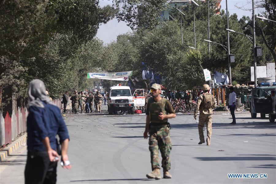 (SPOT NEWS)AFGHANISTAN-KABUL-BLAST
