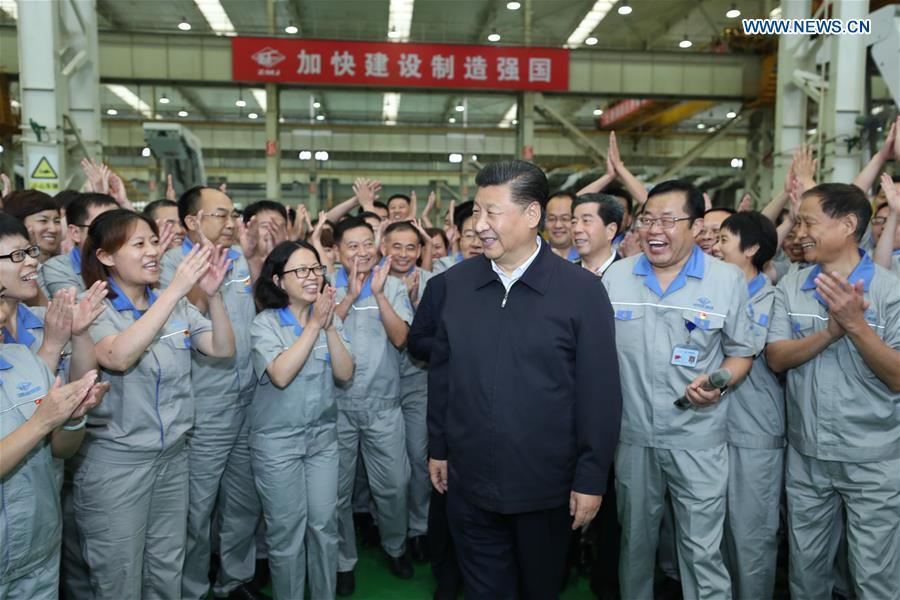 CHINA-HENAN-ZHENGZHOU-XI JINPING-INSPECTION (CN)