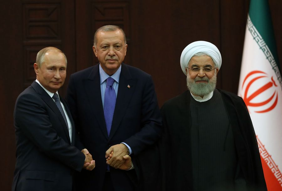 Turkey-Russia-Iran Ankara summit focuses on Syria war without delivering lasting outcome - Xinhua | English.news.cn