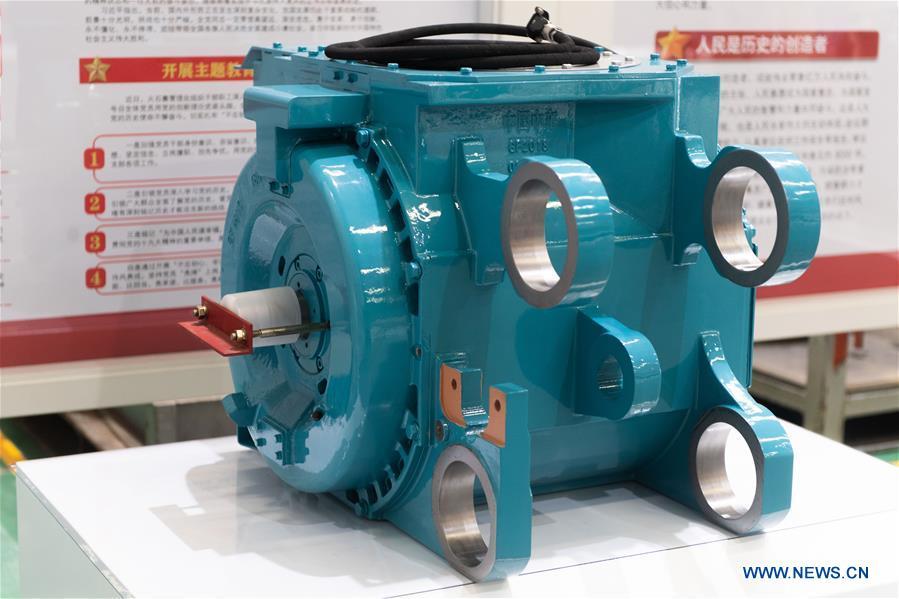 (SCI-TECH)CHINA-HUNAN-ZHUZHOU-CRRC-PERMANENT MAGNET TRACTION MOTOR (CN)