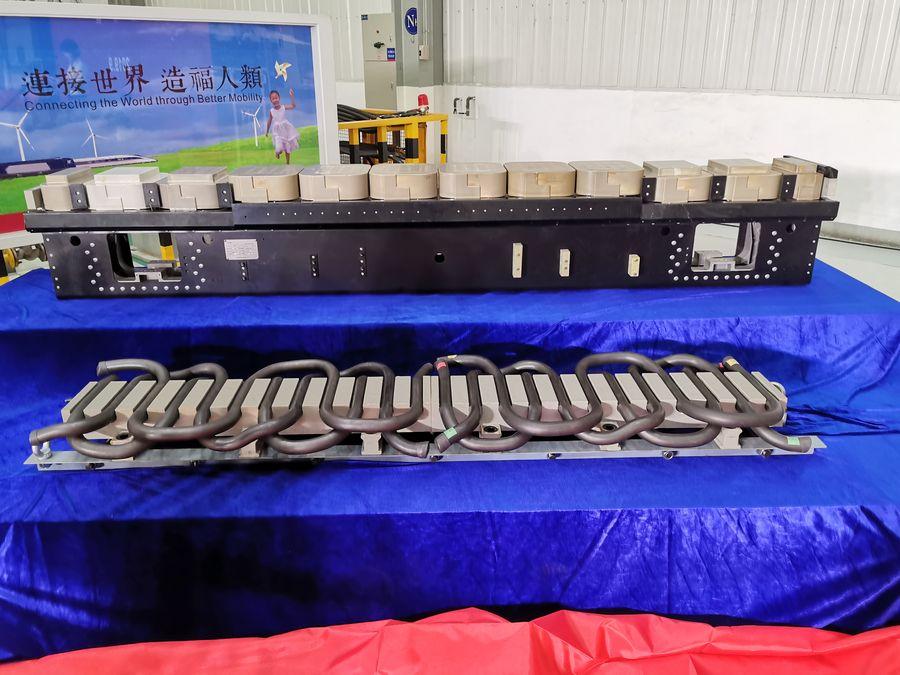 Key components of China's 600 kph maglev train unveiled - Xinhua   English.news.cn