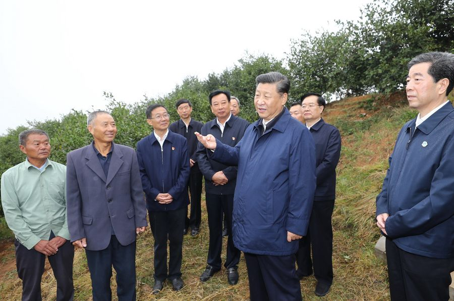 Find the way, act boldly: Xi talks with villagers on poverty relief - Xinhua   English.news.cn