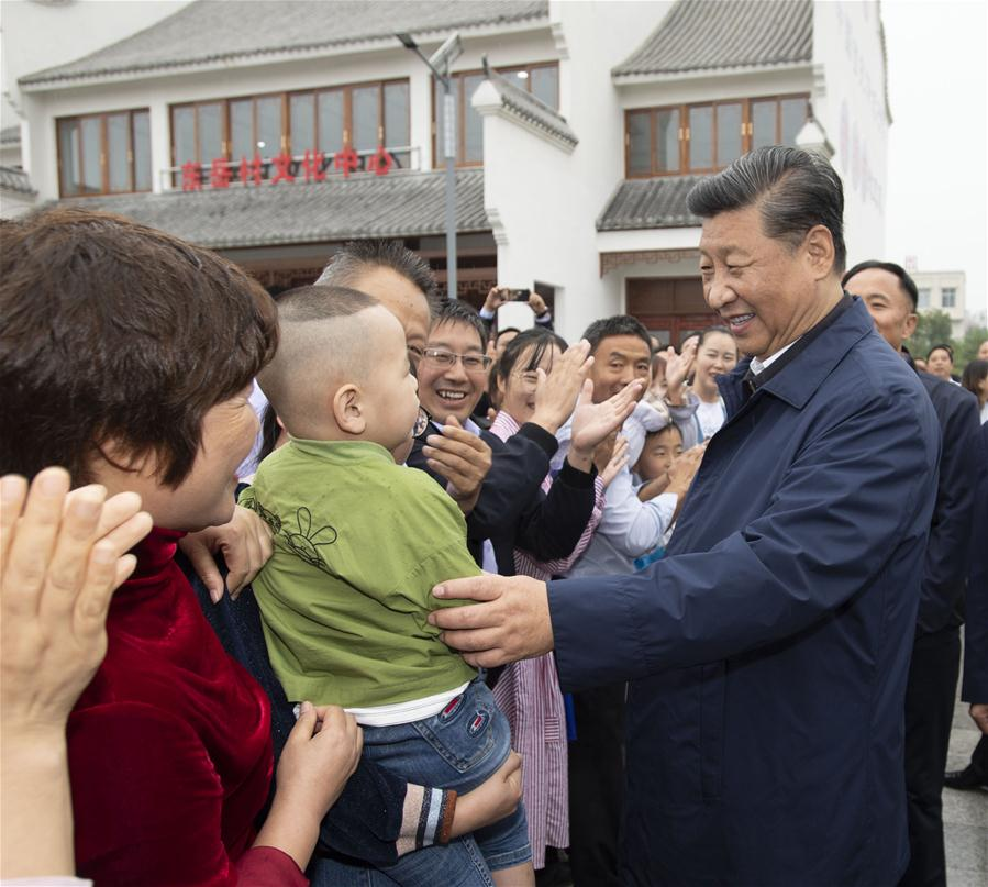 CHINA-HENAN-XI JINPING-POVERTY ALLEVIATION-INSPECTION (CN)