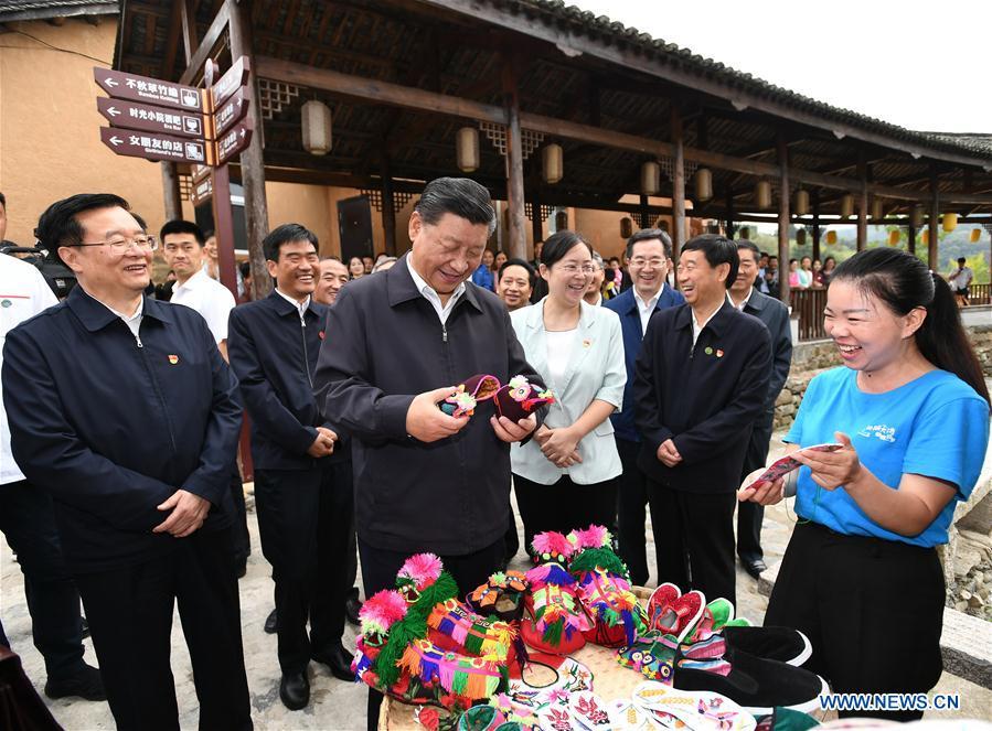 CHINA-HENAN-XINXIAN COUNTY-XI JINPING-INSPECTION  (CN)