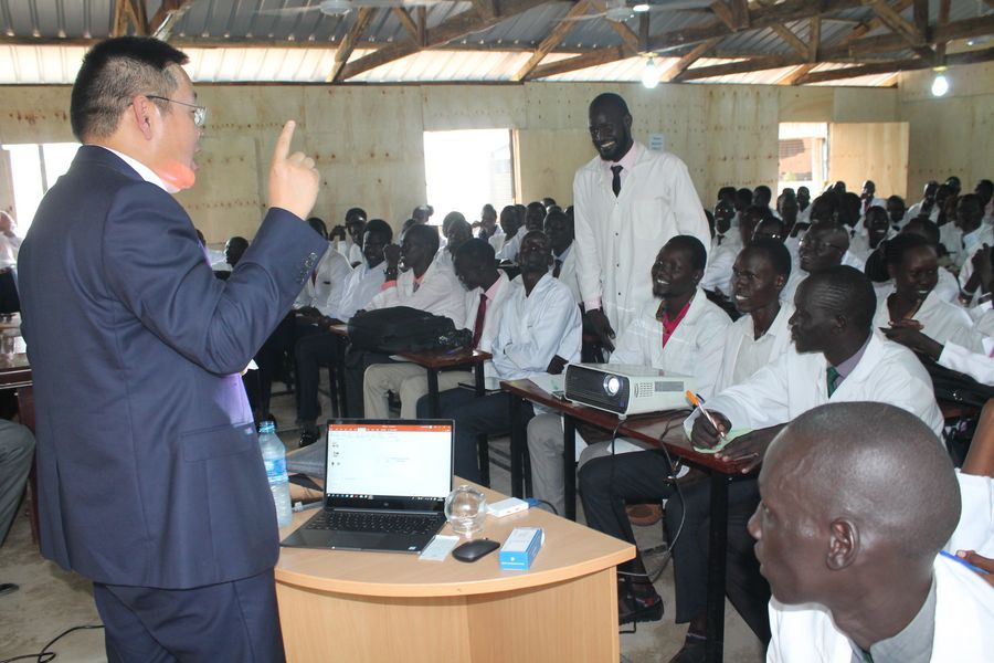 South Sudan medical institute hails Chinese doctors' free capacity building services - Xinhua | English.news.cn