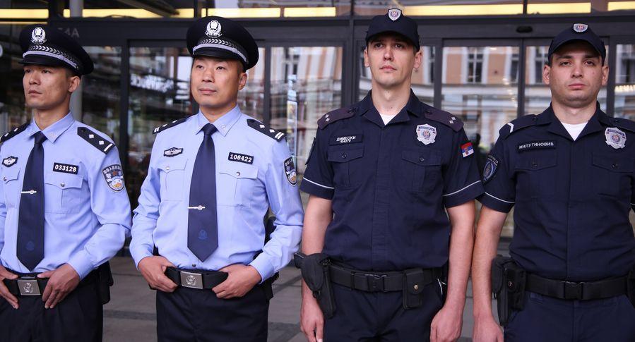 China, Serbia launch joint police patrols in Belgrade - Xinhua   English.news.cn
