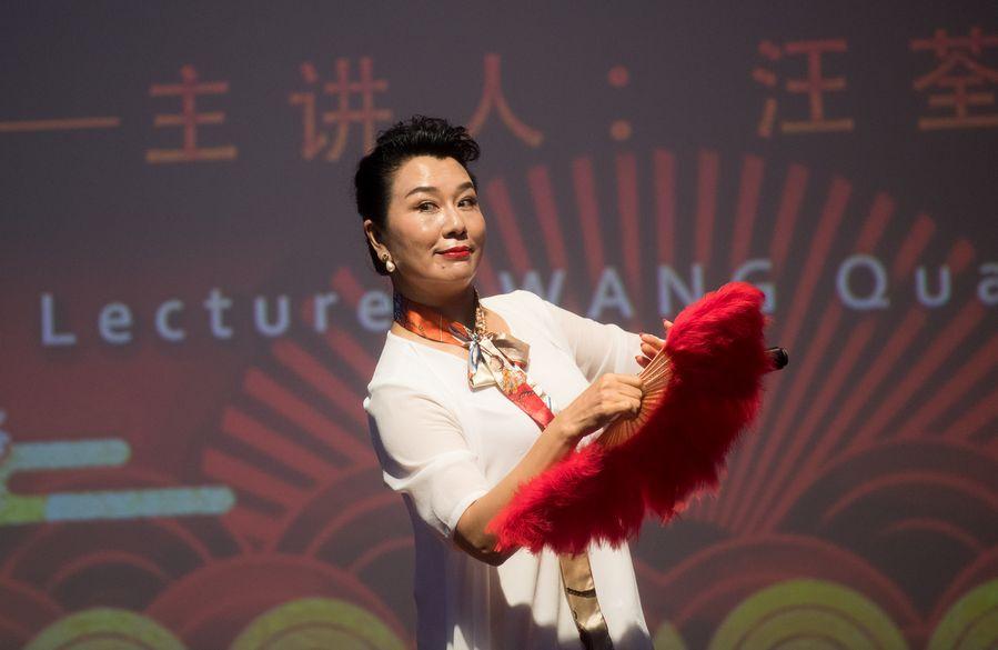 Chinese artist promotes traditional opera among Egyptian audience - Xinhua   English.news.cn