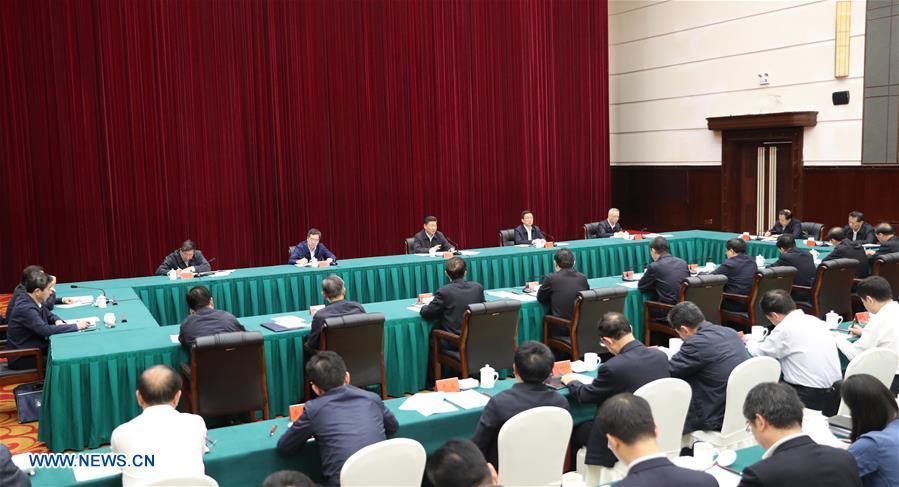 CHINA-HENAN-XI JINPING-SYMPOSIUM-YELLOW RIVER PROTECTION AND DEVELOPMENT (CN)