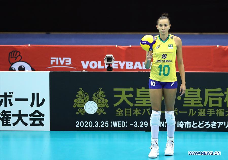 Brazil 2020 World Cup.United States Defeats Brazil 3 0 At Fivb Volleyball Women S