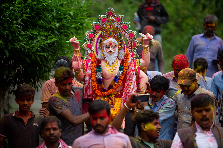 Vishwakarma festival observed in Kathmandu, Nepal - Xinhua | English.news.cn
