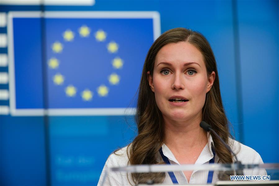比利时-布鲁塞尔-欧盟新闻发布会