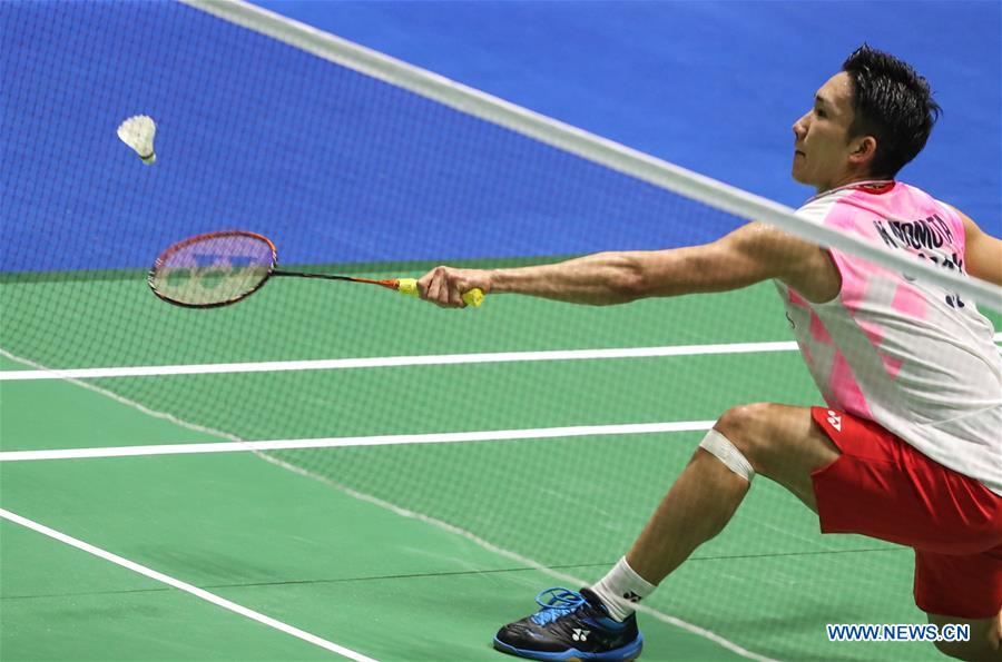 (SP)中国-常州-巴明顿-中国公开赛2019(中国)