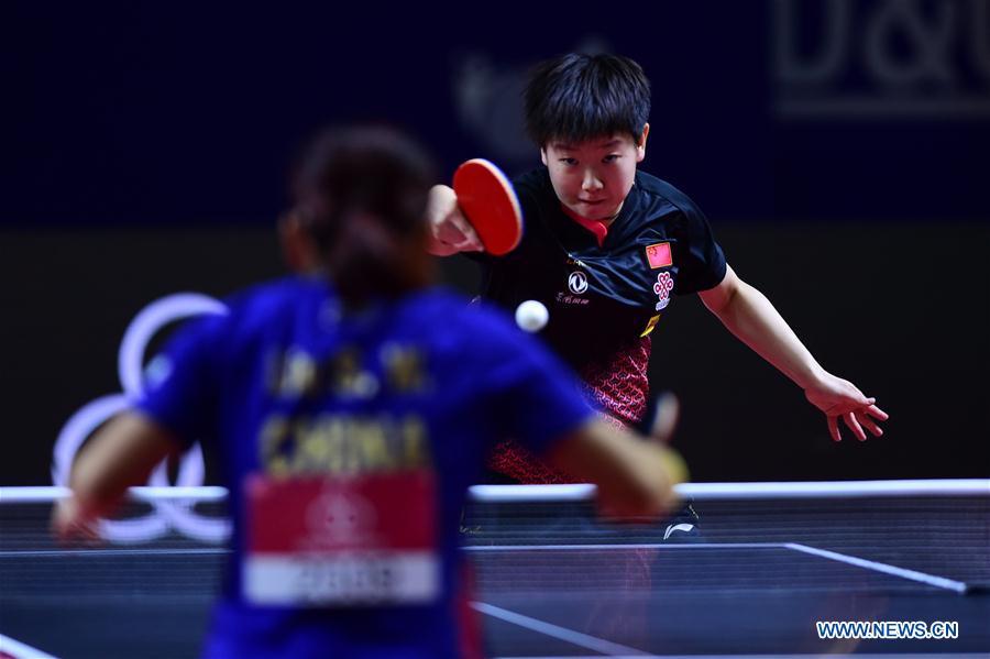 (SP)印度尼西亚-日惹-桌网球-亚洲锦标赛