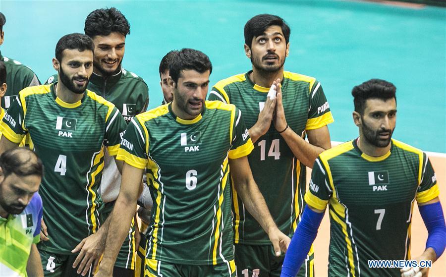 (SP)伊朗-德黑兰-排球-亚洲男子锦标赛-巴基斯坦对印度