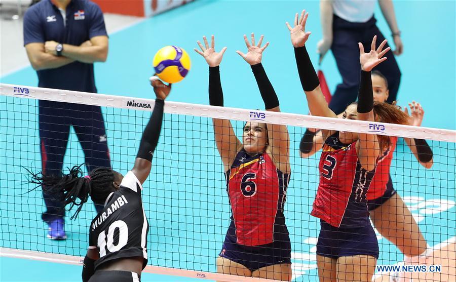 (SP)日本-SAPPORO-排球-女子世界世界杯对阵KEN