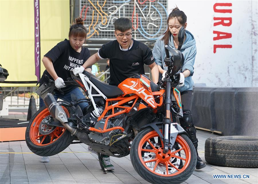 CHINA-SHAANXI-XI'AN-MOTORCYCLE CULTURAL FESTIVAL (CN)
