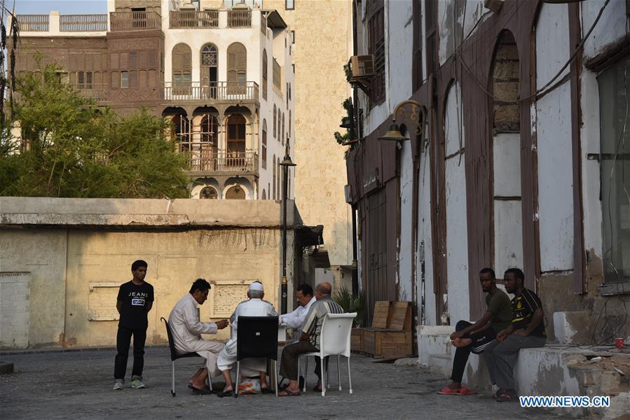 沙特阿拉伯-吉达-历史区-巴拉德