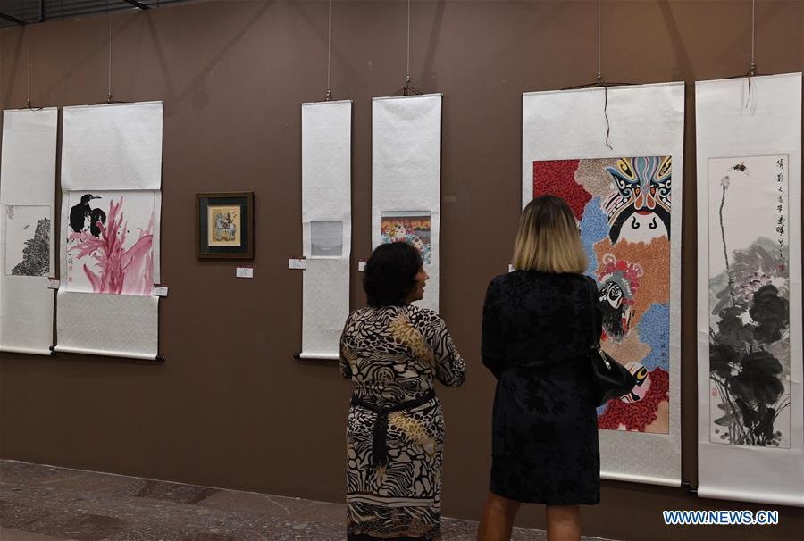 阿尔巴尼亚-蒂拉纳-中国艺术品博览会