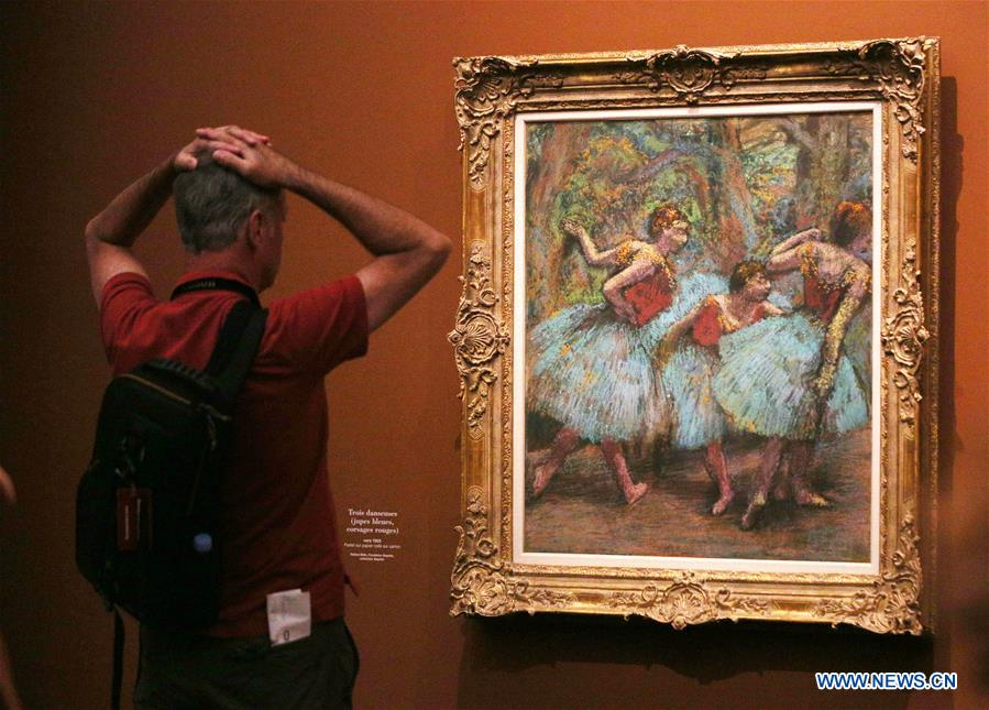 Exhibition Degas At The Opera Held In Paris France