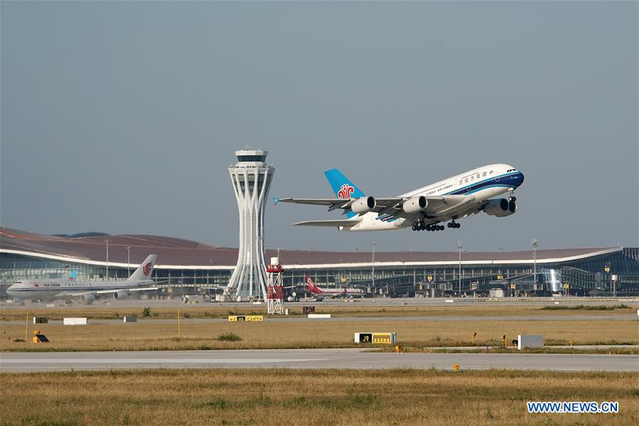 Beijing's new airport opens to flights - Xinhua | English.news.cn