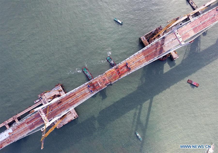 中国-福建-跨海铁路桥梁完成区(CN)