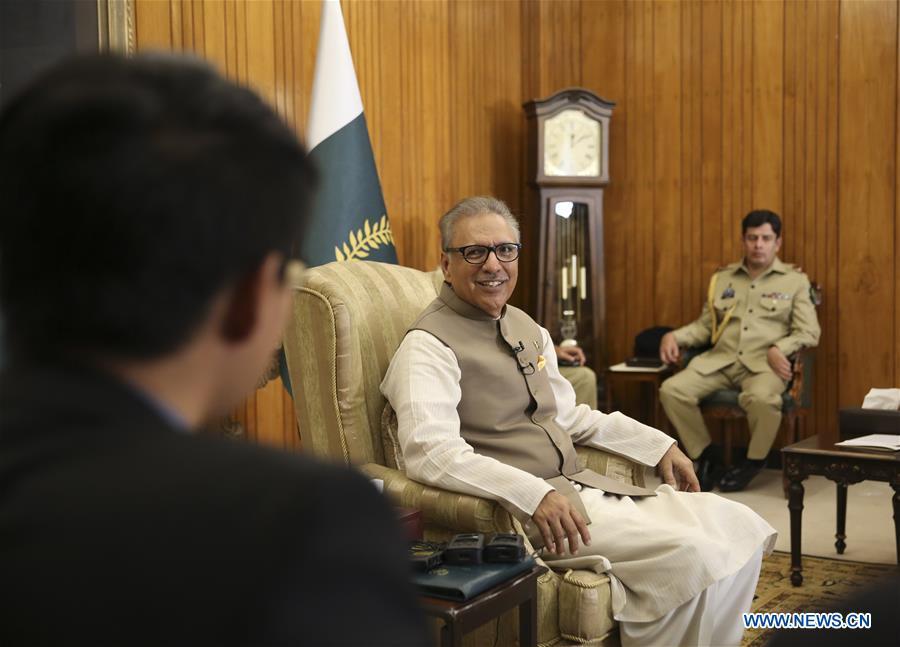 巴基斯坦-伊斯兰堡专访-巴基斯坦总统