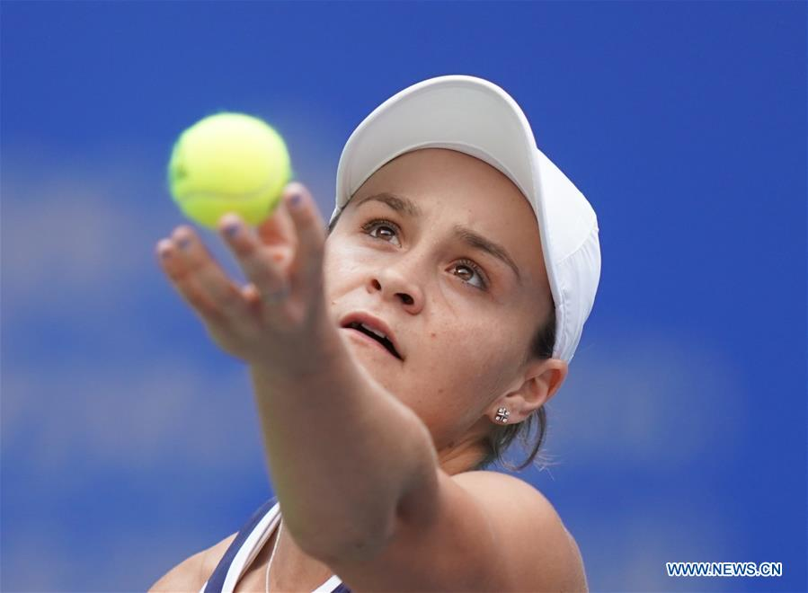 (SP)中国-武汉-WTA-网球-武汉公开赛