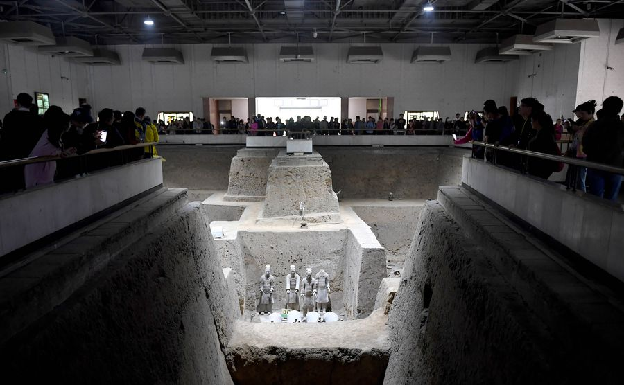 Mausoleum of Qinshihuang receives 120 mln visitors in 40 years - Xinhua | English.news.cn