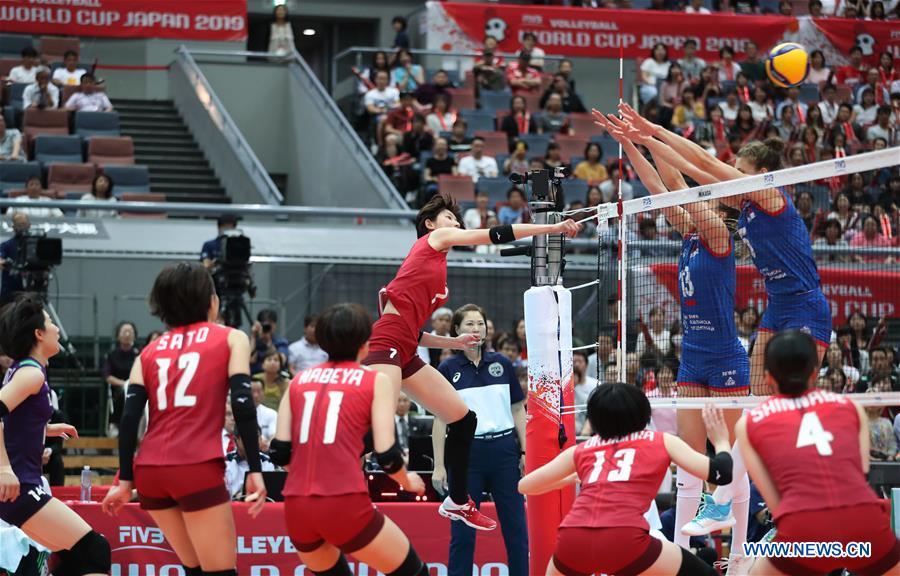 (SP)日本-大阪-排球-女子世界杯-JPN VS SRB