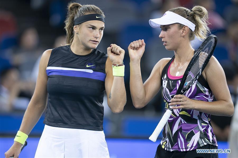 (SP)中国-武汉-WTA-网球-武汉公开赛(中国)