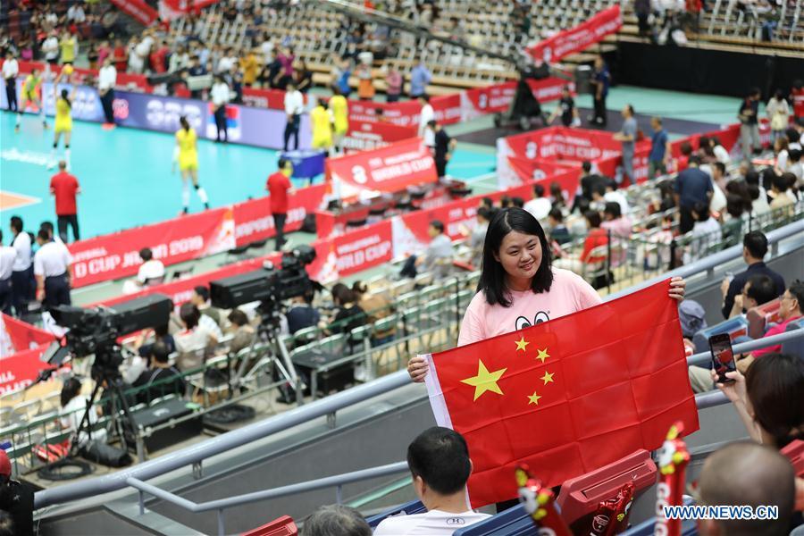 (SP)日本-大阪-排球-女子世界杯-CHN VS SRB