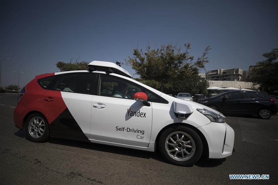 以色列特拉维夫-扬德克斯自驾车测试