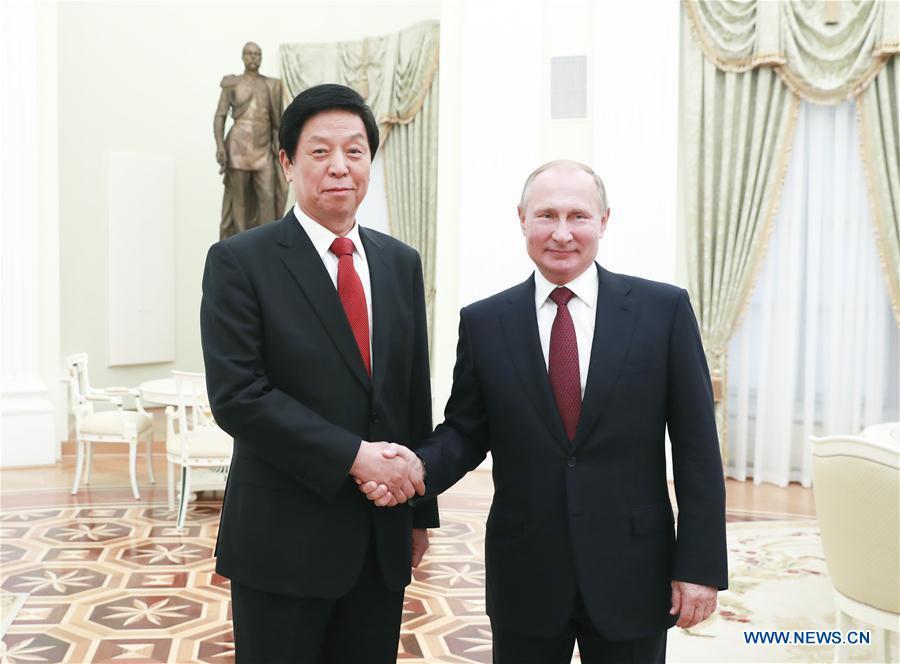RUSSIA-CHINA-LI ZHANSHU-VISIT