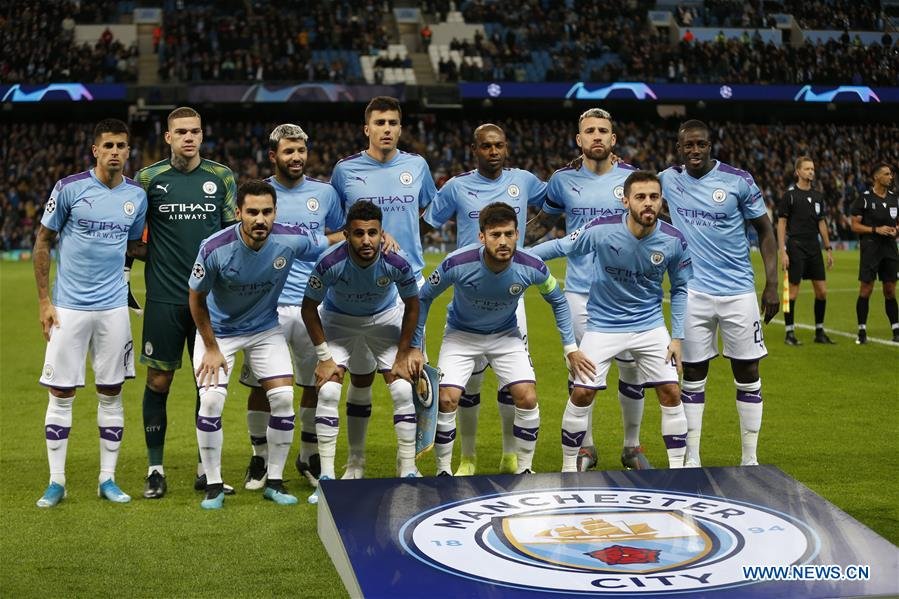 Uefa Champions League Group C Match Manchester City Vs Dinamo Zagreb Xinhua English News Cn