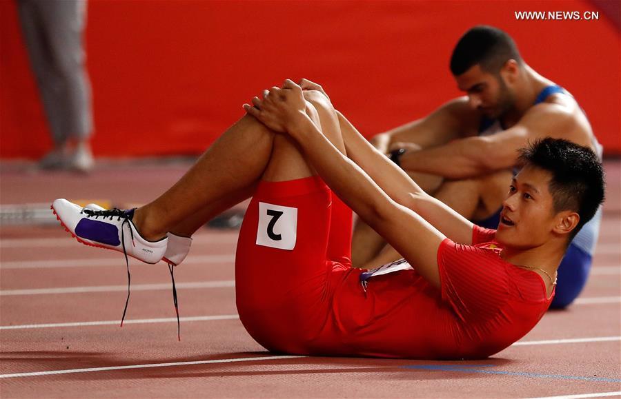 (SP)卡塔爾-多哈-國際田聯世界田徑錦標賽男子200M