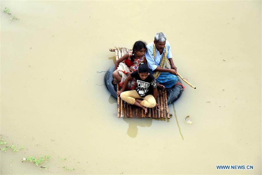 印度比哈尔洪水