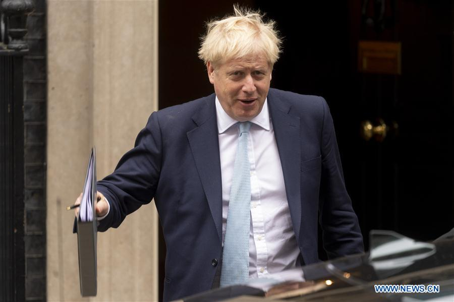 英国伦敦伦敦鲍里斯约翰逊英国脱欧交易