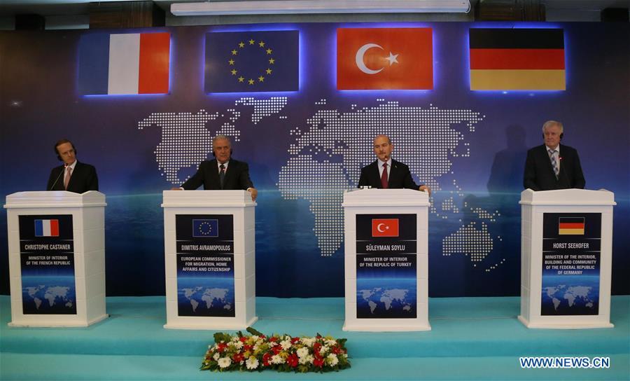 土耳其-安卡拉-欧盟避难所