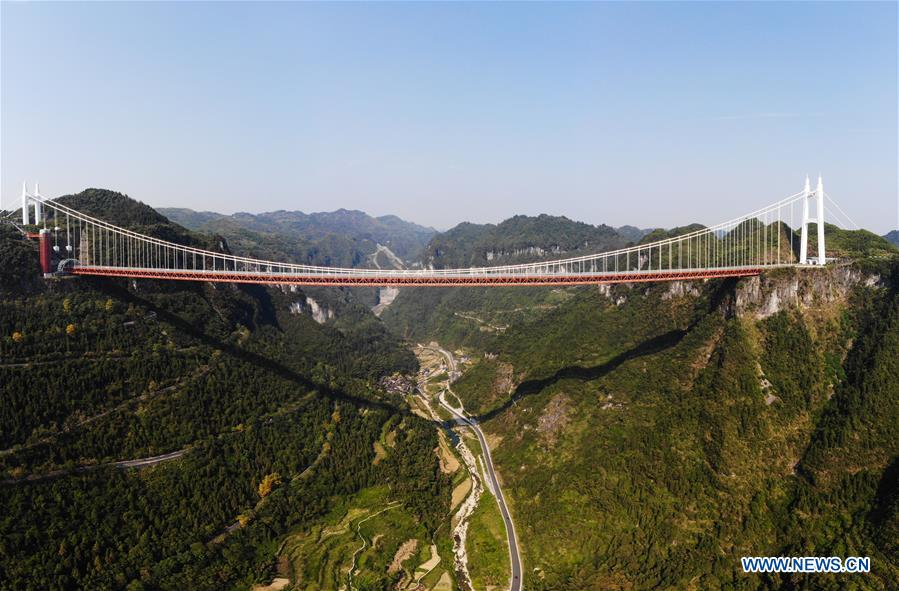 CHINA-CHANGSHA-SUSPENSION BRIDGE