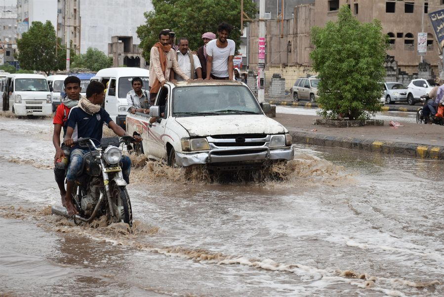 More than 90,000 people affected by flooding in Yemen: UN - Xinhua | English.news.cn