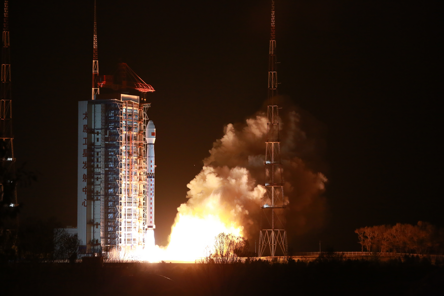 China launches high-definition observation satellite - Xinhua | English.news.cn