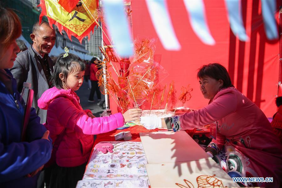 CHINA-LIAONING-SHENYANG-TEMPLE FAIR (CN)